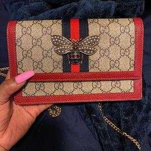 Gucci Handbag Broadway Bee bag